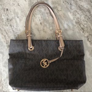 Michael Kors Chocolate Brown Tote